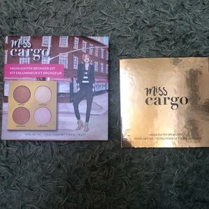 NIB MISS CARGO BRONZER HIGHLIGHTING KIT